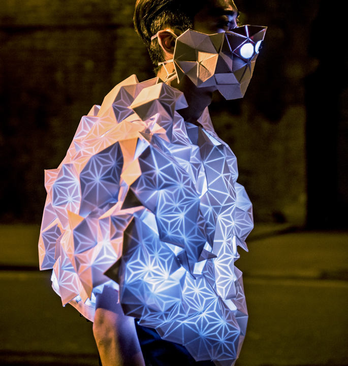 Human Sensor, wearables, cultura, contaminación