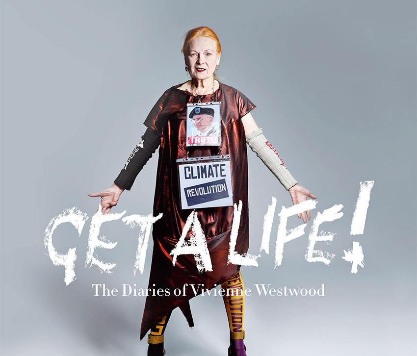vivienne westwood, get a life, climate revolution, libros, revista ecológica, revista de moda ecológica, eco magazine, ecofashion magazine