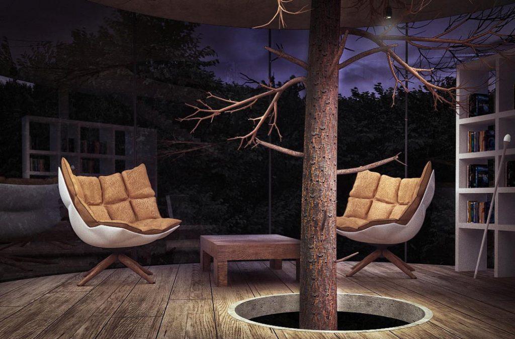casa en un árbol, Wason, casa, arquitectura, diseño, medio ambiente, interiorismo, eco diseño, revista de diseño