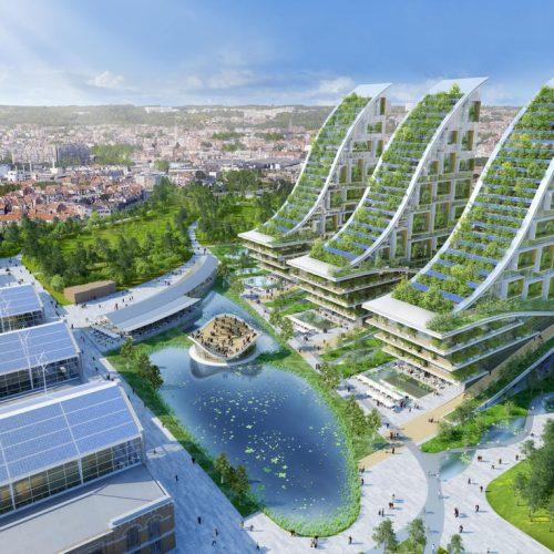 Tour&Taxis, Vicent Callebaut, arquitectura, arquitectura sostenible, diseño sostenible, reconstrucción de espacios, sustainable arquitecture, eco architecture, design magazine, architecture magazine