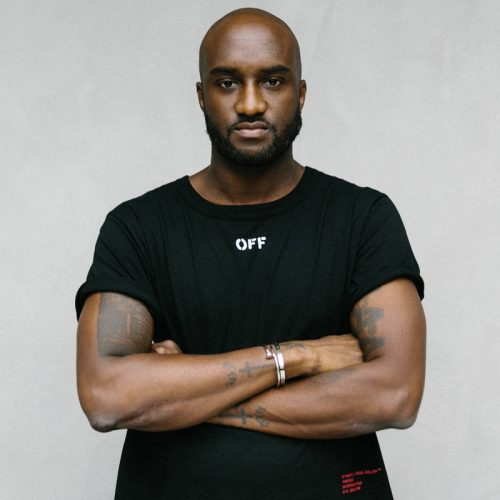 Virgil Abloh, icons of style, Louis Vuitton, Men's Artistic Director at Louis Vuitton, Kanye West, Off-White, Virgil x Evian