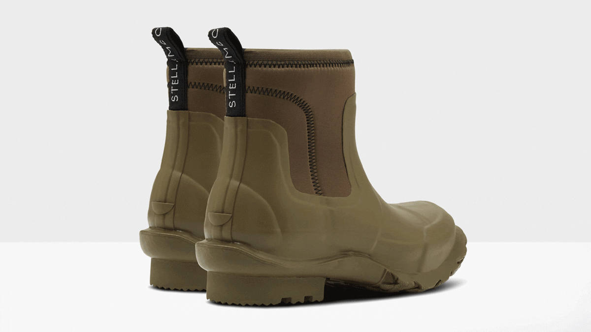 Stella McCarney, sustainable luxury, luxury brands going sustainability, sustainability in luxury, hunter and stella mccartney, hunter boots stella mccartney