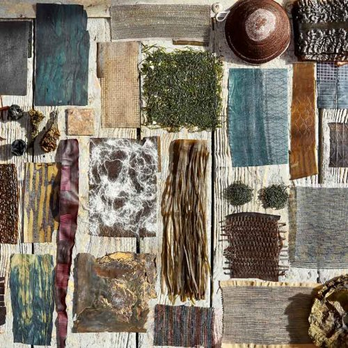 Violaine Buet, algae, seaweed, uses of algae, deco, living house, natural resources, applications of seaweed, artisan, French artisan, seaweed artisan, craftsmanship, local sourcing, natural textiles, organic fabrics, algae textile, sea organism, organic process