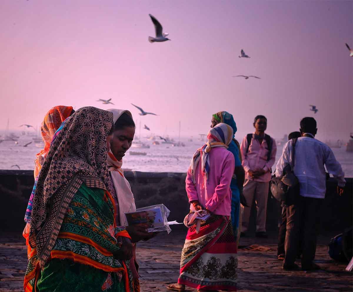 Indian culture silks