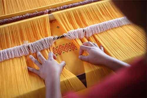 Indian silks sustainable conscious fashion
