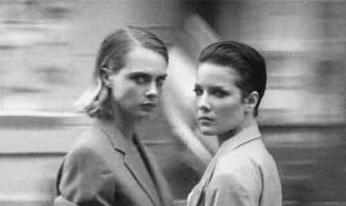 Cara Delevingne and Halsey gender neutral