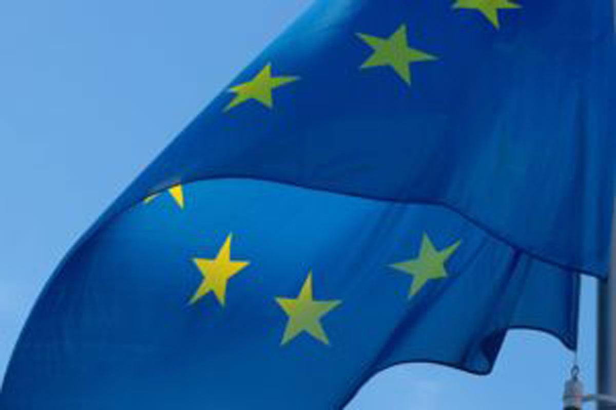 European flag, new cotton project, breaking news, stars, flag