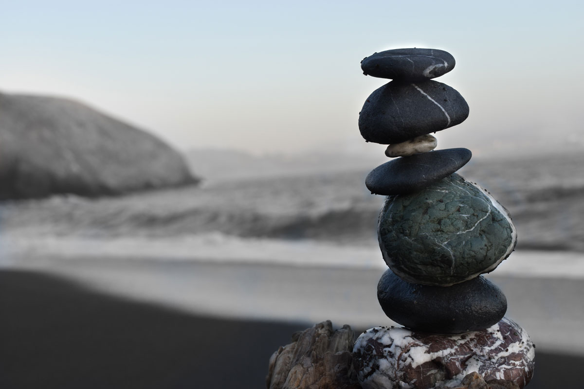stones, beach, mindfulness- sustainability