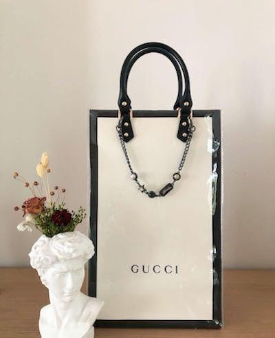 Diy luxury, luxury makeover, craftcore, upcycle Chanel, reconstruct Chanel, diy tote, deadstock, jw Anderson, Dior, Ganni, Hermes, Harry Style, Alexander McQueen, Dickies, A-Cold-Wall, Luxiders Magazine